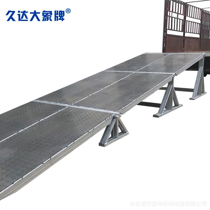 商场组合式液压式海南登车桥平台
