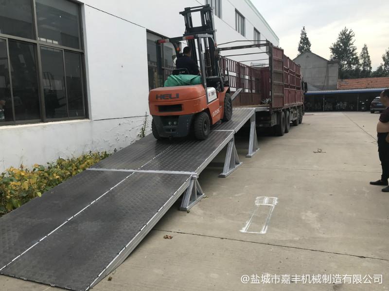 叉车拼装式液压固定卸货平台求购